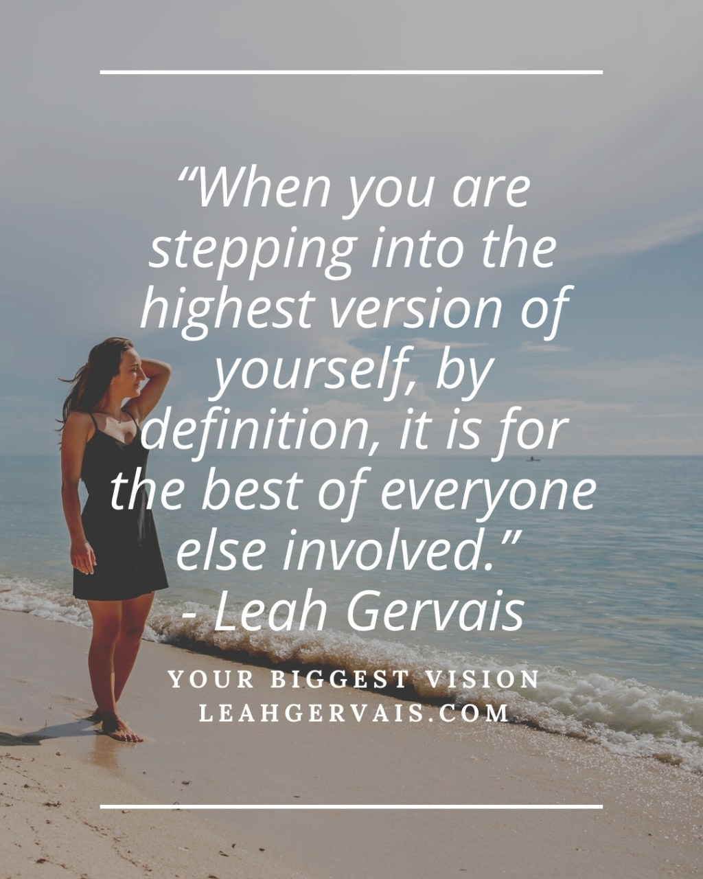 Leah Gervais on Listening to your gut and Sept. recap