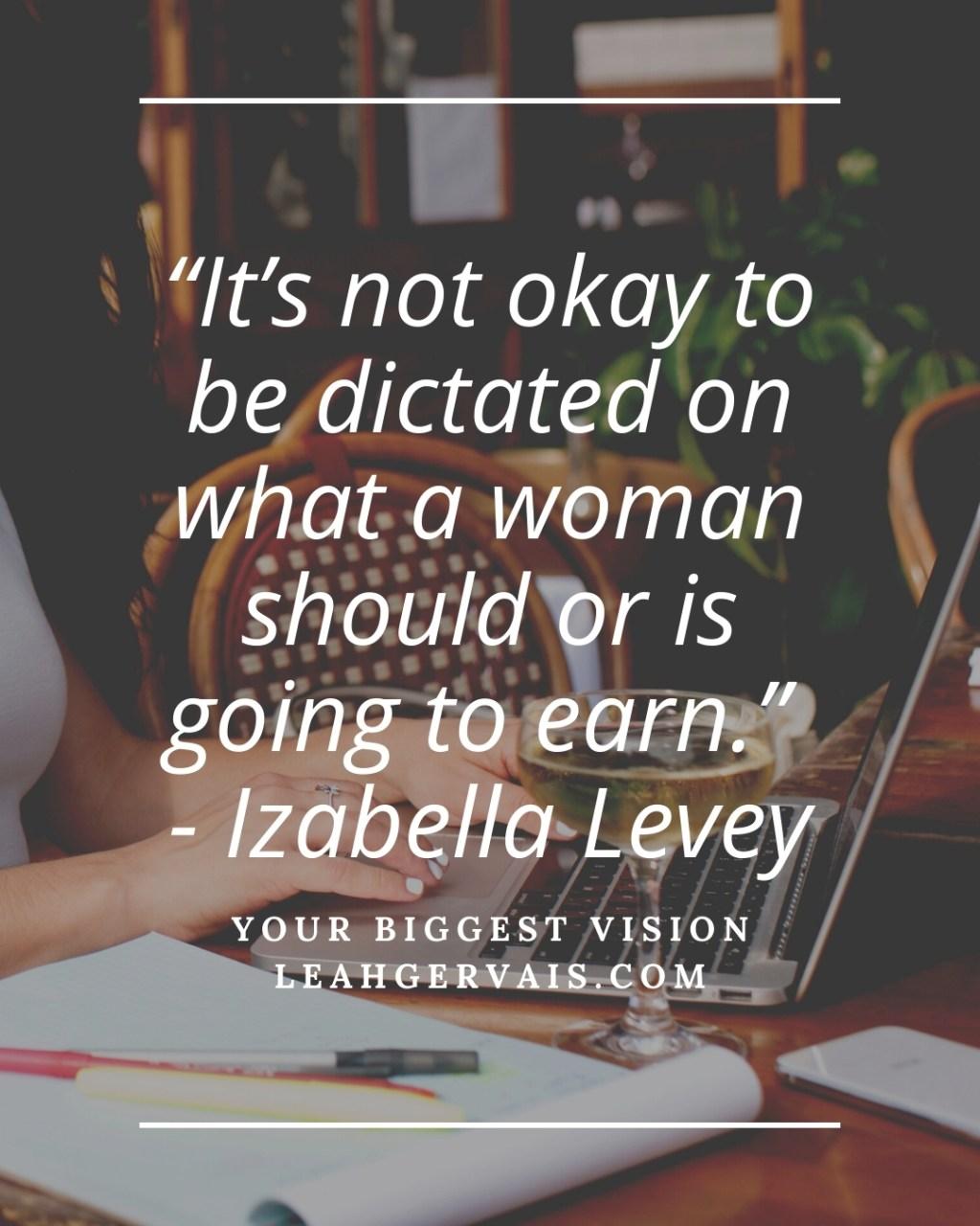 Leah Gervais interviewing Izabella Levey