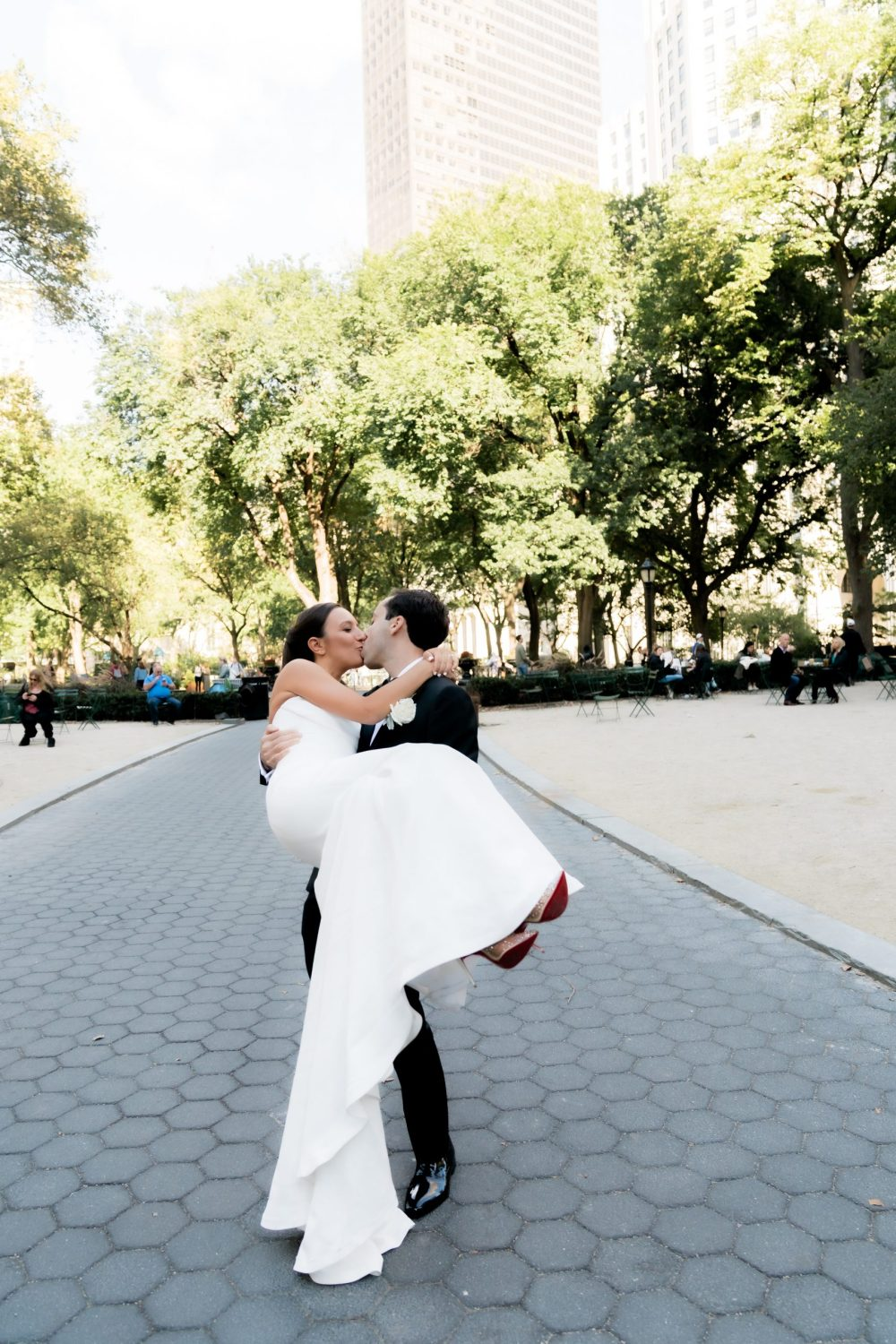 Madison Square Park wedding photos