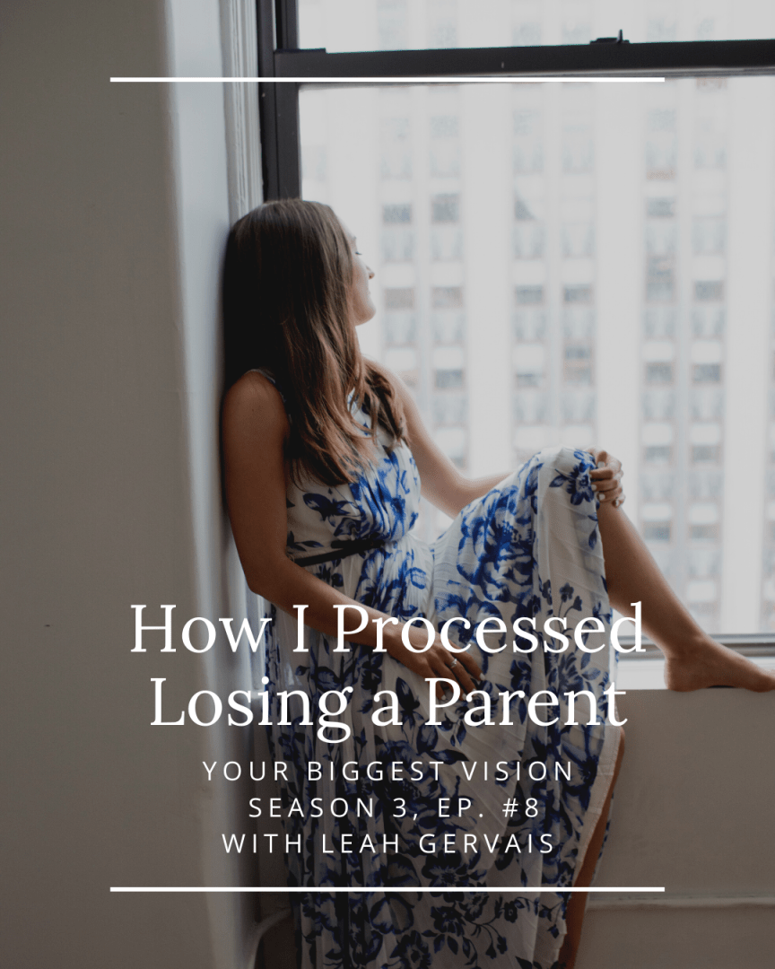 Tune in to this very vulnerable podcast episode, sharing my experience with grief and answering your questions about loss.