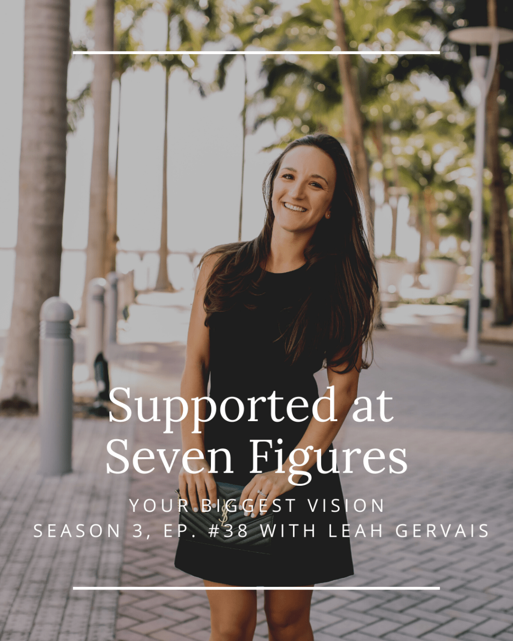 Sharing the behind the scenes of the kind of support that I have in my business and in my life in order to have my business where it is.