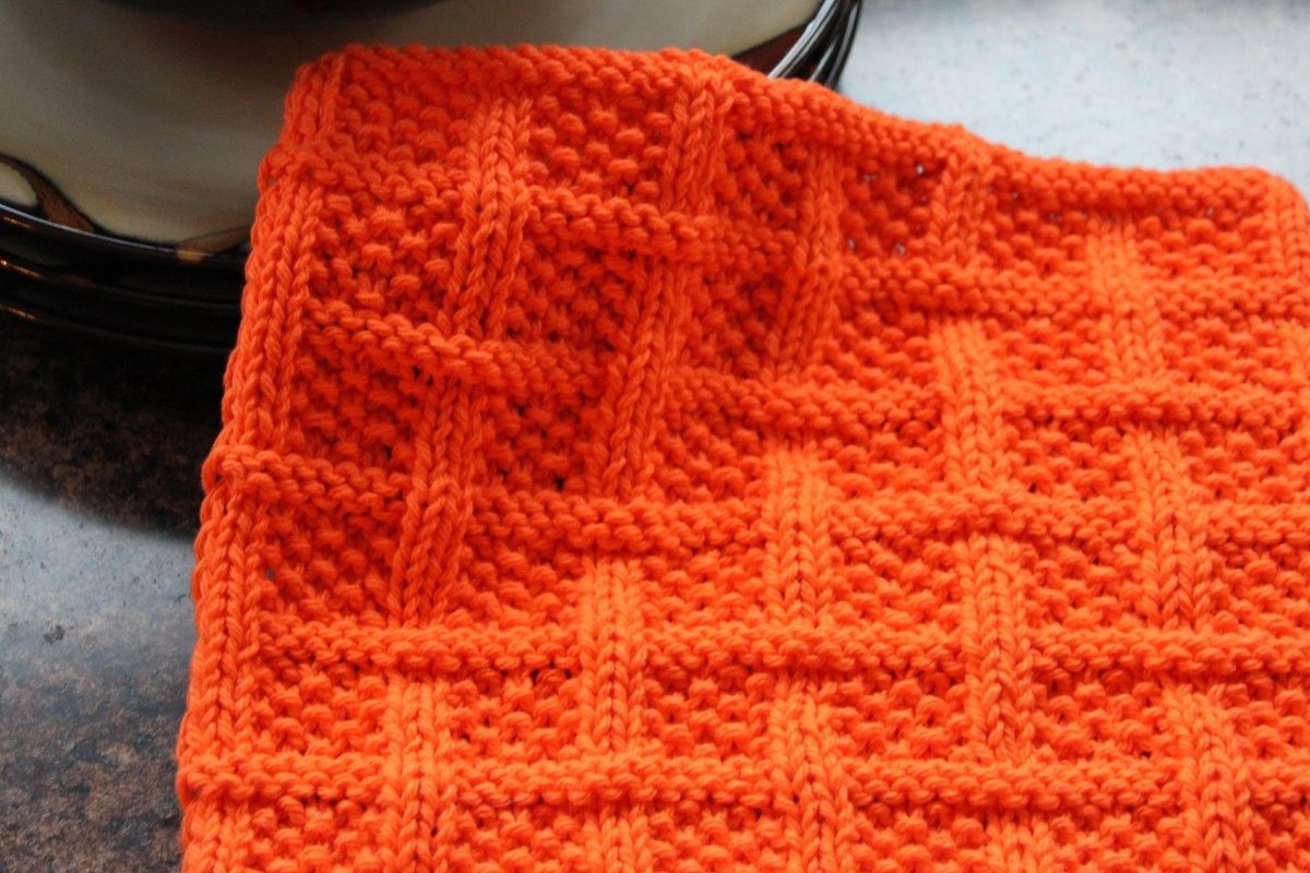 Square Lattice Dishcloth