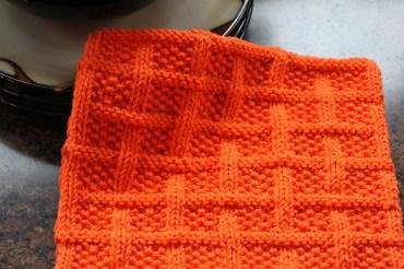 Square Lattice Dishcloth