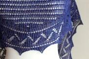 Summer Lace Shawl closeup