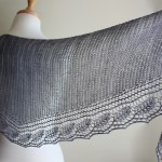 Spring Rain Shawl wide view