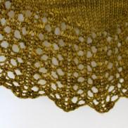 Contentment Shawl lace detail