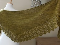 Contentment Shawl wide