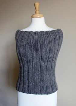 Bulky Ribbed Cowl full