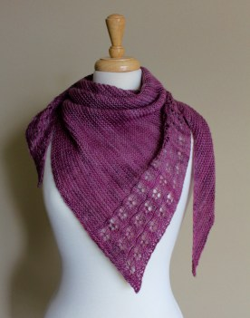 Eyelet Chain Shawl