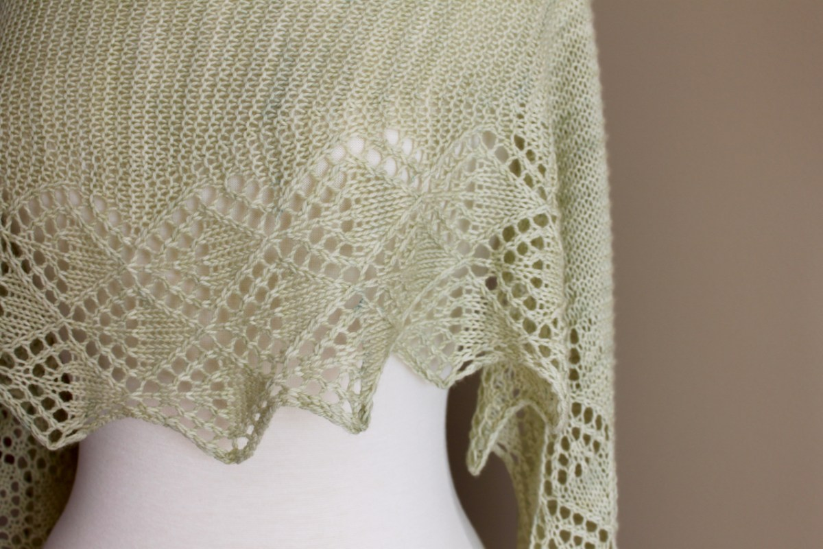Little Summer Shawl lace