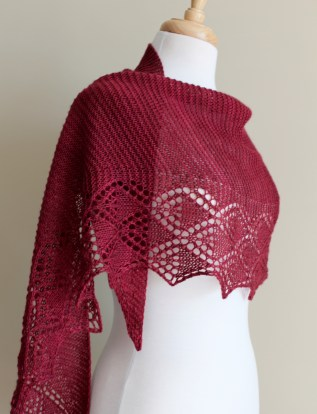 Little Summer Shawl side