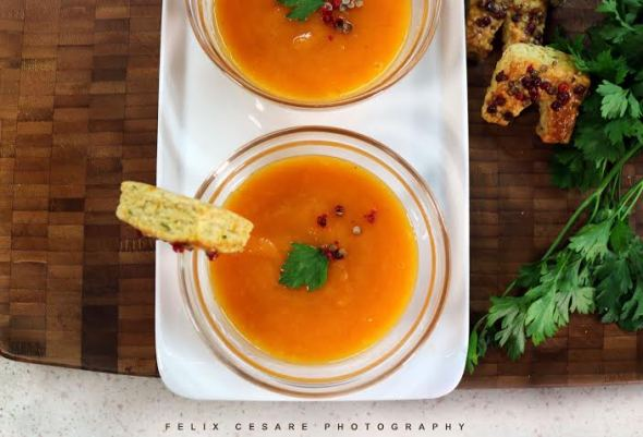 Carrot Orange Soup as seen on TV