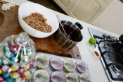 easter nests with chocolate cornflakes 4