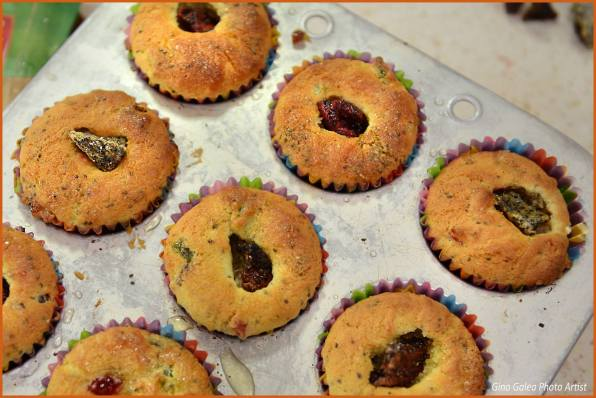 Dragon Fruit & Chia Seed Muffins