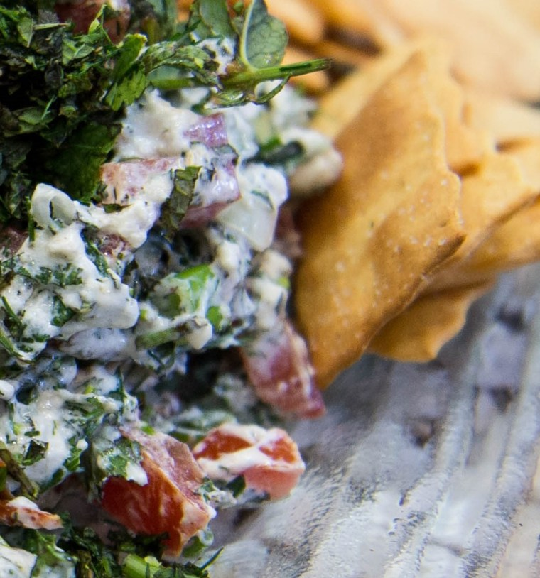 straciatella dip goodfoodeveryday