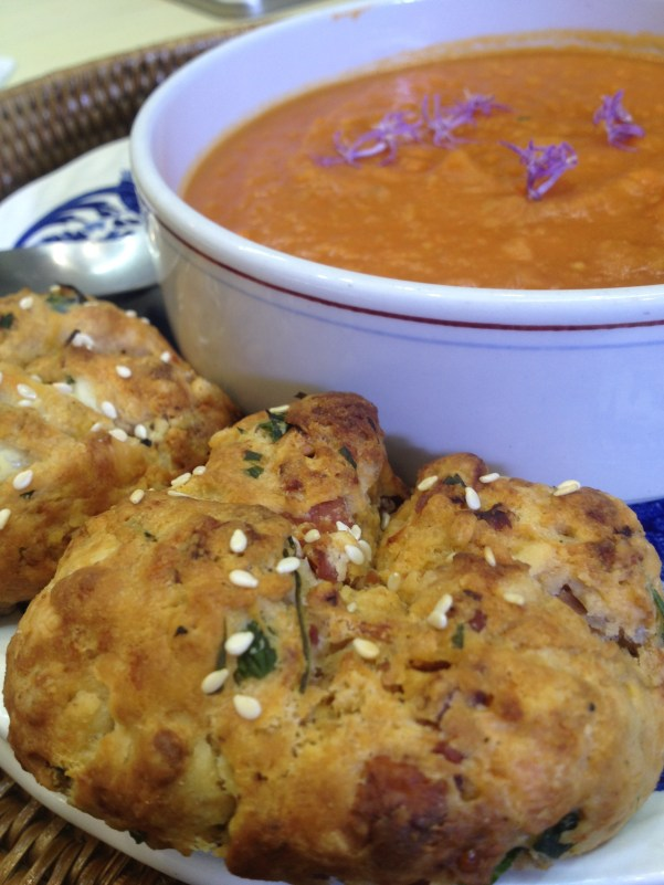 Scottish Lentil Soup with Herby Spelt Rolls, credit George Aquilina