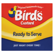 Mr. Bird created Birds Custard to suit his wife's allergies in 1837