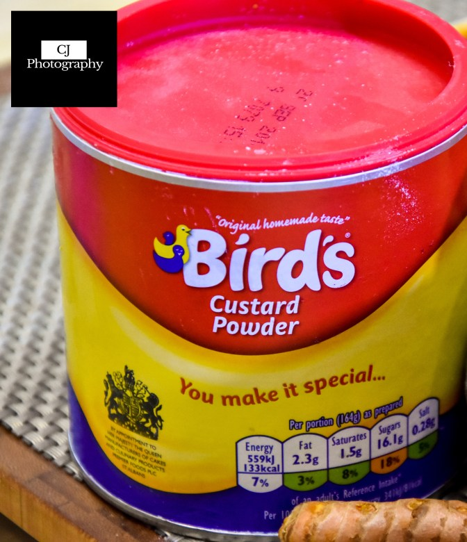 Bird Egg Free Custard Powder