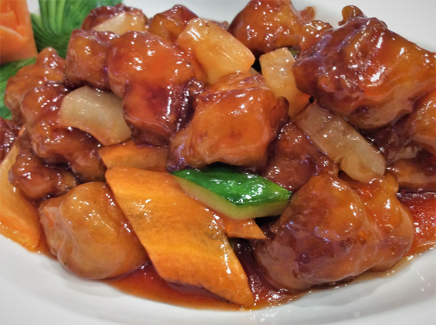 Saturday night chinese sweet and sour pork from the heart of the chinese food forumfinder Images