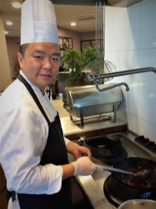 Bing Pan, Chef at La Branda Premium Resort, Mellieha, Malta