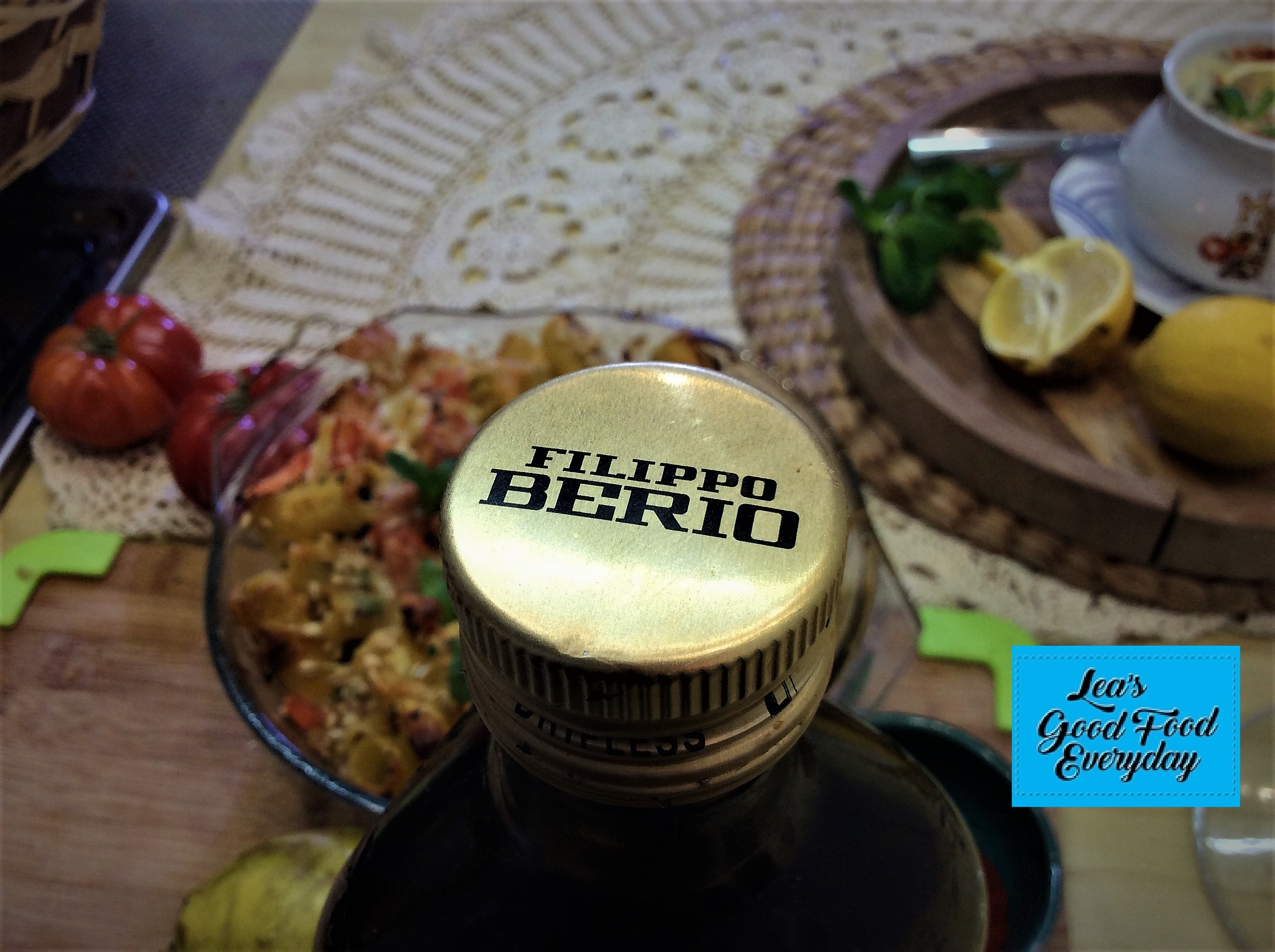 Filippo Berio Olive Oil, simply the best