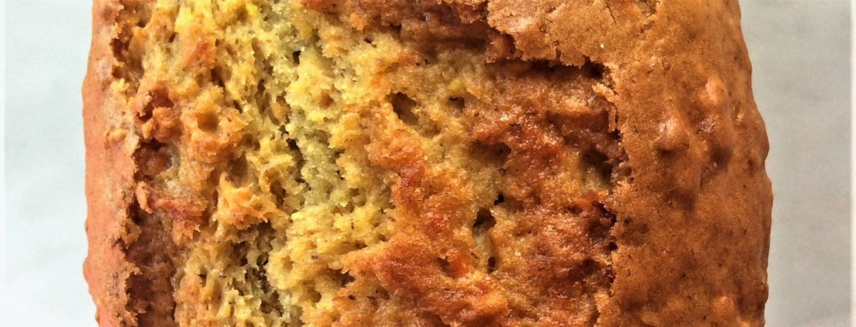 Weekend Baking: All-in-One light and fluffy Carrot Banana Loaf and Muffins