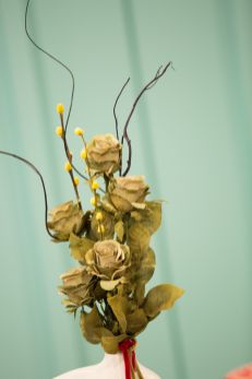 Floral arrangements by Brian Camilleri