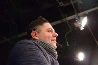 Production Manager George Aquilina