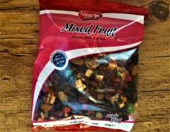 lamb brand mixed dried fruit packet