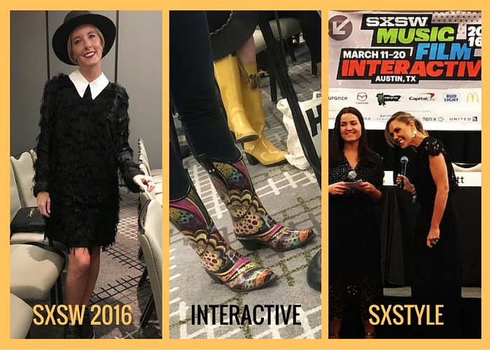 Collage showing scenes from SXstyle at SXSW 2016