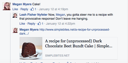 Try Some Beet Cake