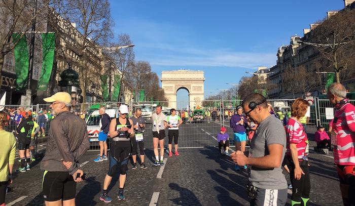 Paris Marathon Start Corral