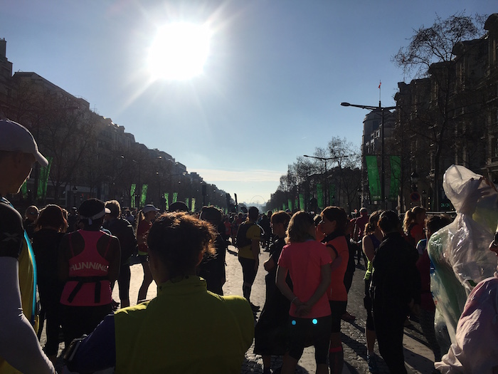 Paris Marathon Start
