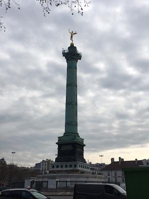 Place de la Bastille Statue