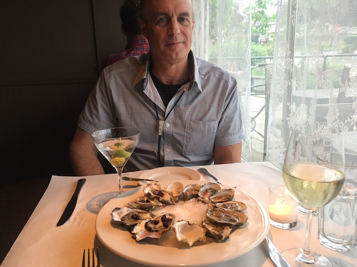 Oysters at Hitchcock