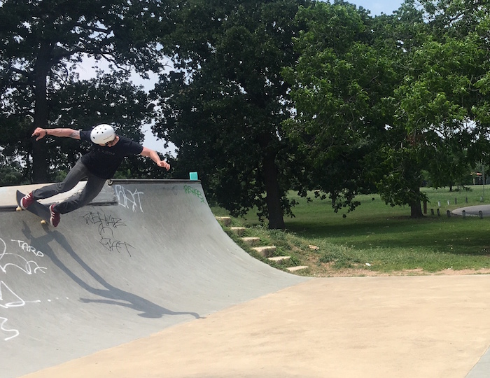 Patterson Park Skateboarder