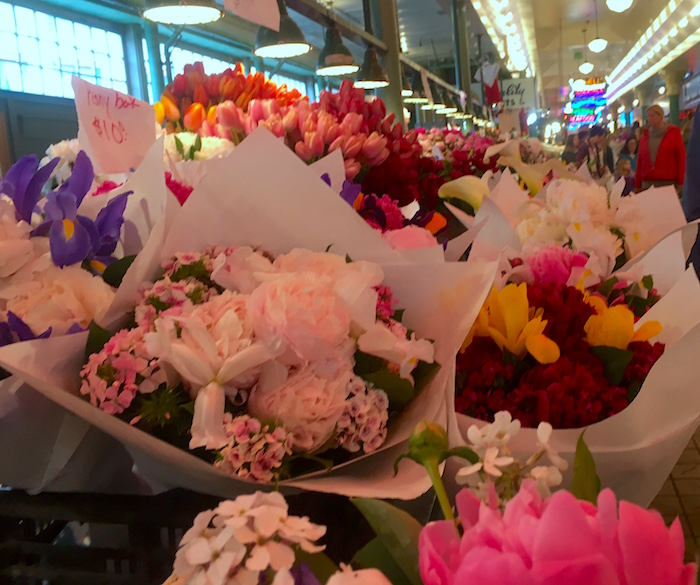 Pike Place Flower Bouquets