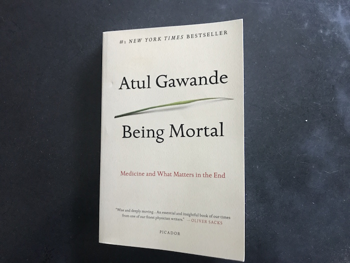 Photo of nonfiction book Being Mortal by Atul Gawande