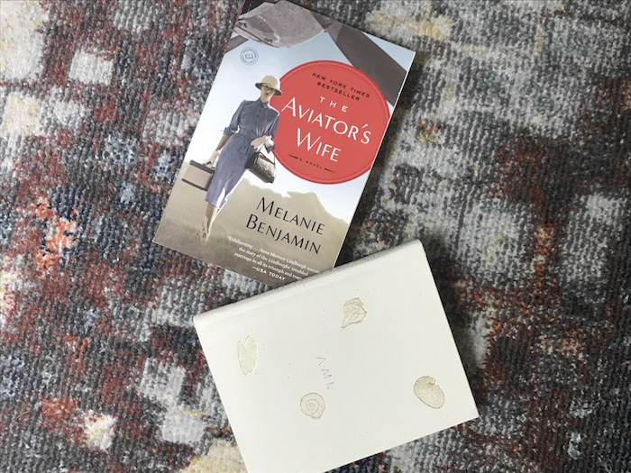 Two books about Anne Morrow Lindberg, The Aviator's Wife by Melanie Benjamin and Gift from the Sea by Anne Morrow Lindberg