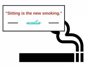 sitting is the new smoking quote attributed to media