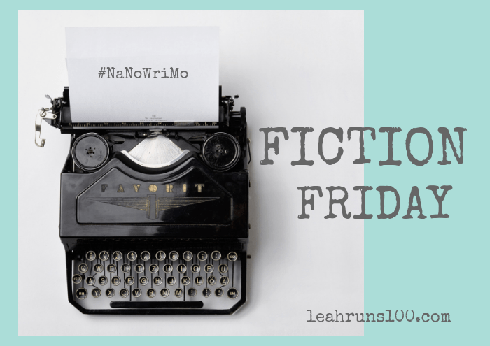 old fashioned typewriter Fiction Friday for #NaNoWriMo