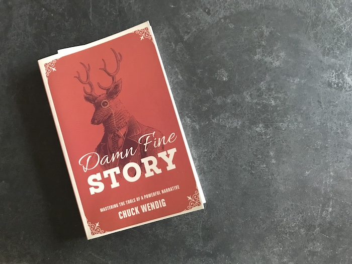Chuck Wendig's book on writing, Damn Fine Story