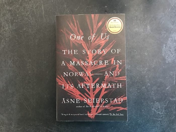 One of Us: The Story of a Massacre in Norway--and Its Aftermath by Anne Seierstad book cover