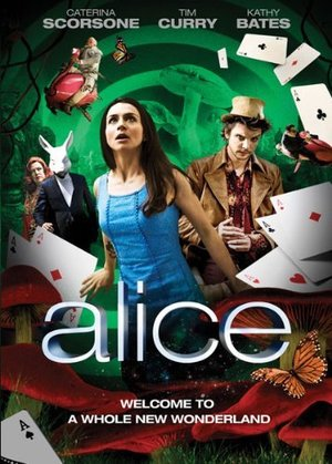 dvd cover syfy Alice 2009