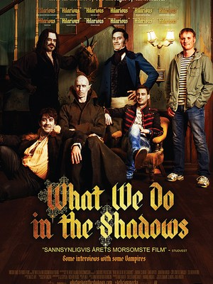 movie poster What We Do in the Shadows 2014