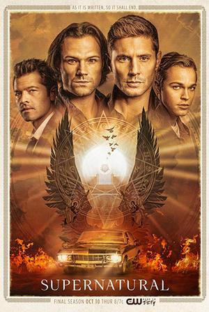 Supernatural season 15 poster