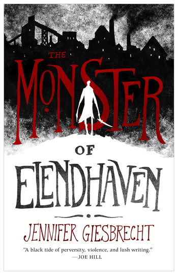 image book cover The Monster of Elendhaven by Jennifer Giesbrecht
