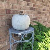 Concrete Pumpkin
