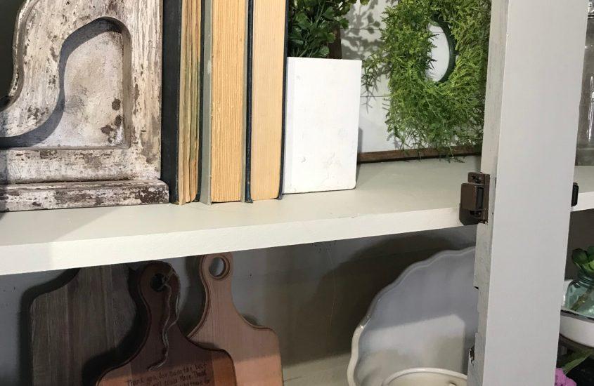 DIY Farmhouse armoire