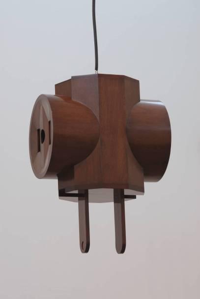 Giant 3-Way Plug Scale 2/3 1970 by Claes Oldenburg born 1929